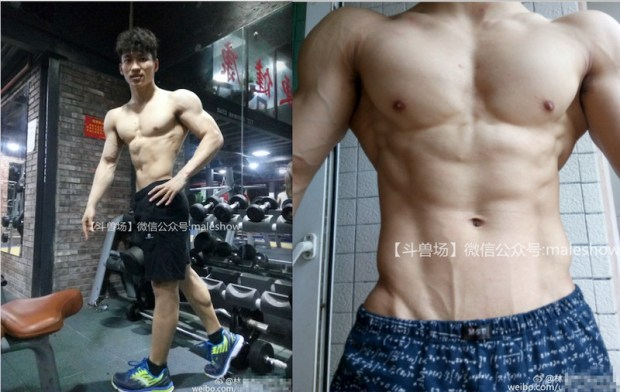 Chinese maleshow – MALESHOW – BODY BUILDER LIN ZHI JIE (健美先生 – 林智杰)