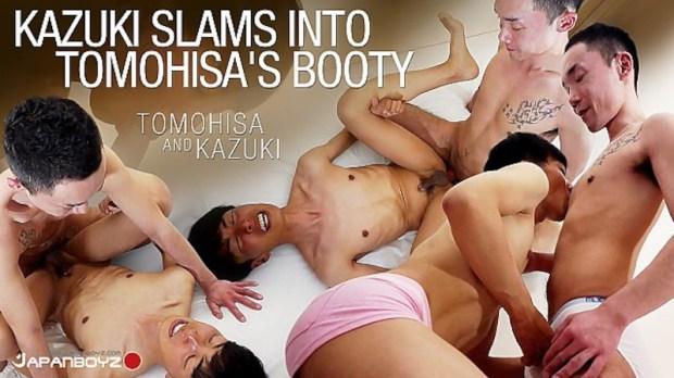 JAPANBOYZ – Kazuki Slams Into Tomohisa's Booty