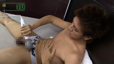 Men's Rush.TV – MR-ON624 – 敏感青年、電マで射精して超快感☆