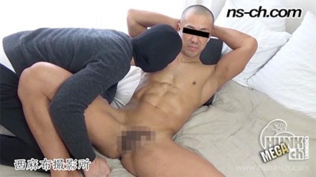 HUNK CHANNEL – NS-511 – ノリの良いマッチョが初撮影に挑戦!!