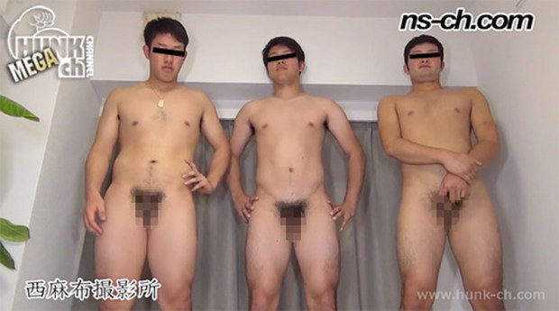 HUNK CHANNEL – NS-722 – 男経験0の体育会男子(175cm86kg20歳・180cm80kg20歳・174cm78kg20歳)