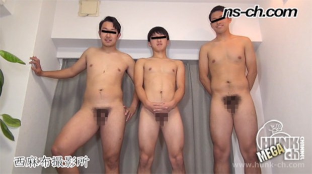 HUNK CHANNEL – NS-726 – 男経験0の体育会男子(181cm78kg20歳・167cm62kg20歳・176cm78kg20歳)