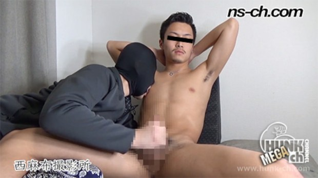 HUNK CHANNEL – NS-739 – 体育会選抜選手潮吹き(176cm68kg19歳)