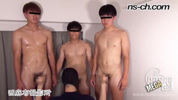 HUNK CHANNEL – NS-790 – 体育会系部員が初撮影にチャレンジ 180cm71kg18歳大学生・160cm68kg19歳・177cm75kg18歳大学生