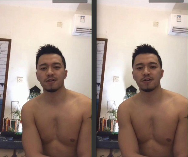 Chinese maleshow – Live Broadcast – Hot Daddy 5 肌肉天菜大叔自慰直播