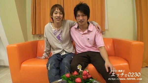 h0230.com – gay0012 – 堤康介 22歳 x 丸山毅 20歳 (KOUSUKE & TSUYOSHI)