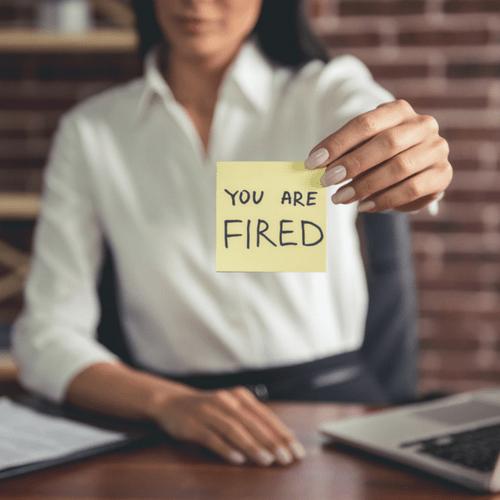 fire a pet sitting employee