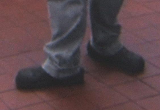 Kevin Crocs CloseUp
