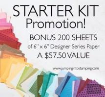 Starter Kit Paper Offer