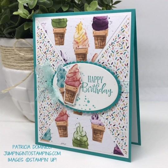 Triangle Ice Cream #2