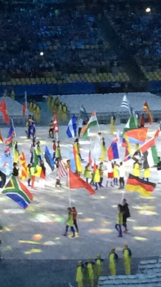 Closing (Simone with the American flag)