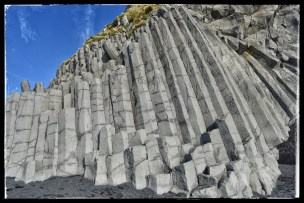 Basalt columns at Reynisfiara