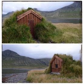 Breiðdalsvík bird blind