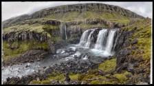Falls on the Fossá River