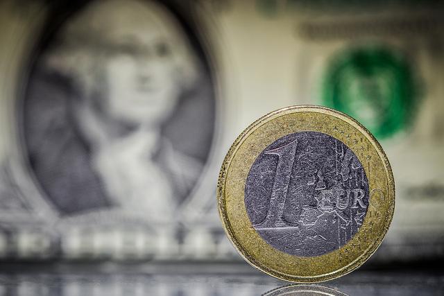 Euro vs Dollar by Dennis Skley