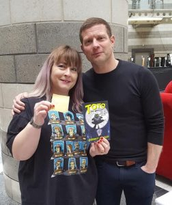 Dermot O'Leary at the Doncaster Book Awards