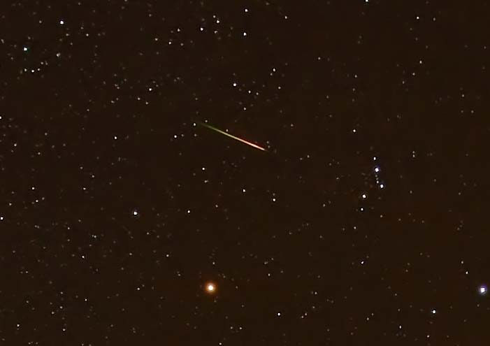 What is the Orionid Meteor Shower?