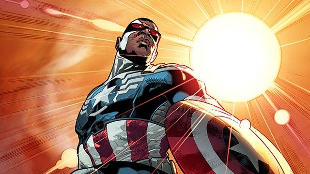 Captain America by Stuart Immomen via Marvel