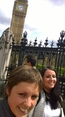 First Big Ben Selfie with Angela Crawley, MP for Lanark and Hamilton East