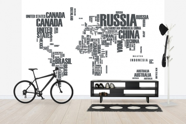 Mural Map Word Cloud