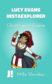 Christmas in Greece book cover
