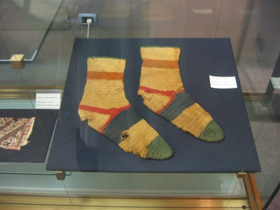 Roman socks. Source