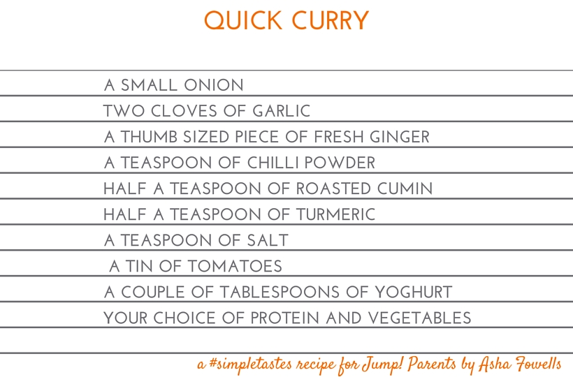 Quick Curry