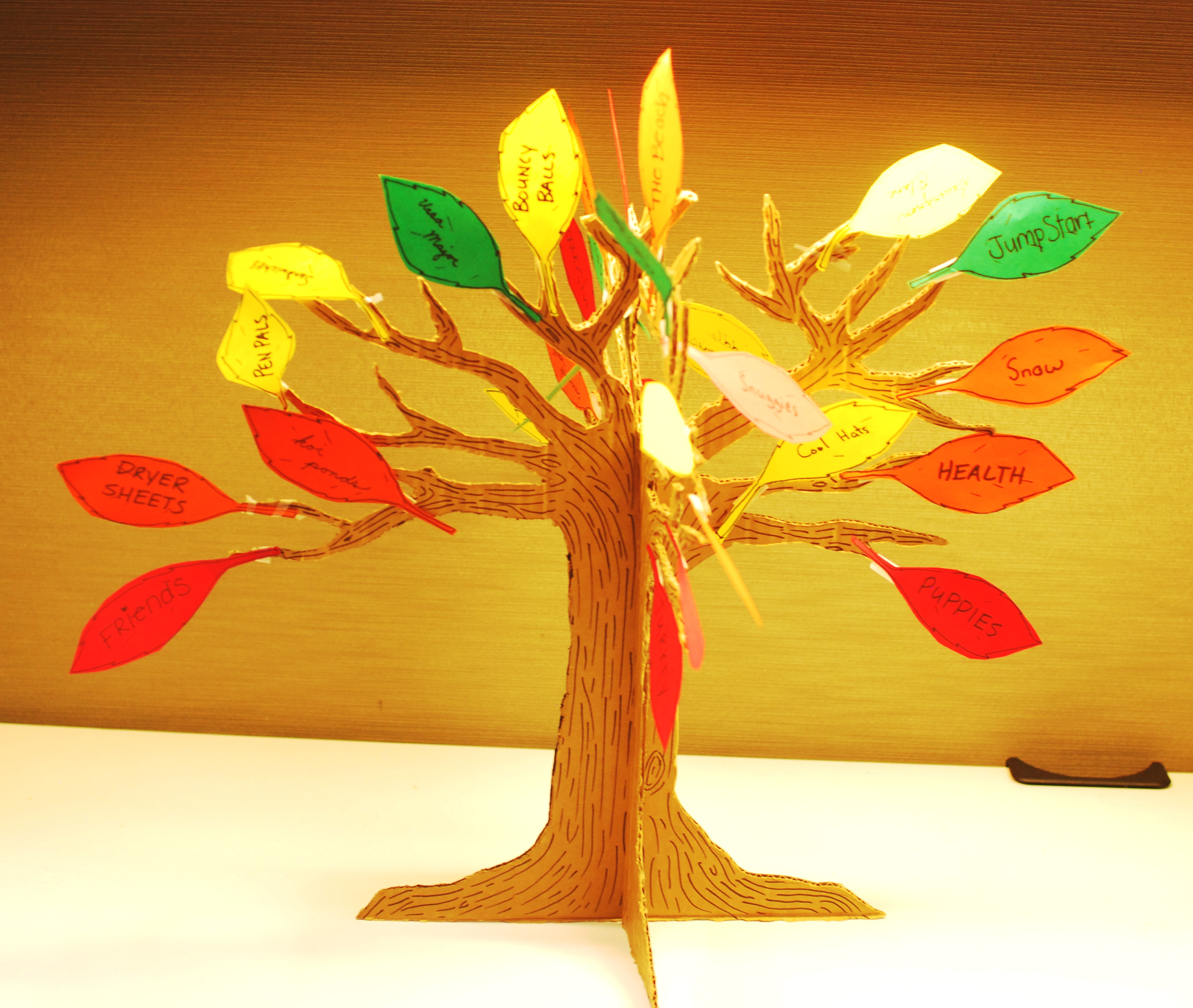 The Giving Thanks Tree