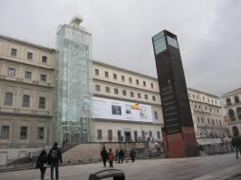 Entrance to Reina Sofia