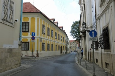 Exploring the streets of Zagreb