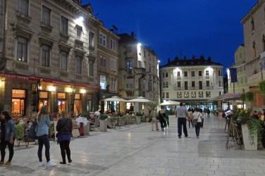 Evening in Split