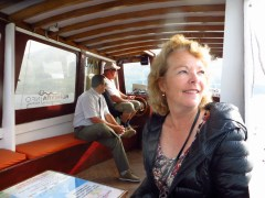 On the small boat to Orebic