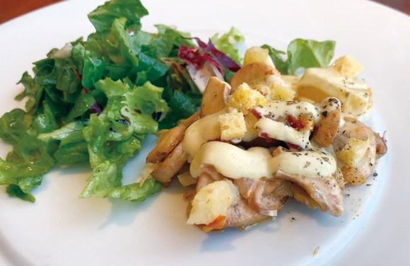 エキポンテベッキオの野菜料理