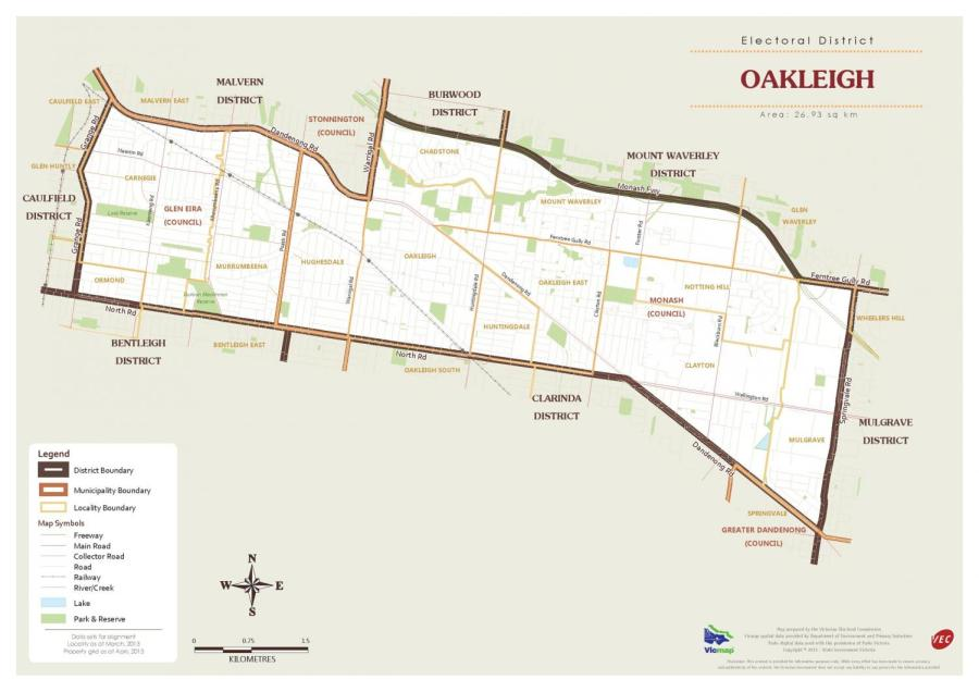 Oakleigh: It's all about the trains