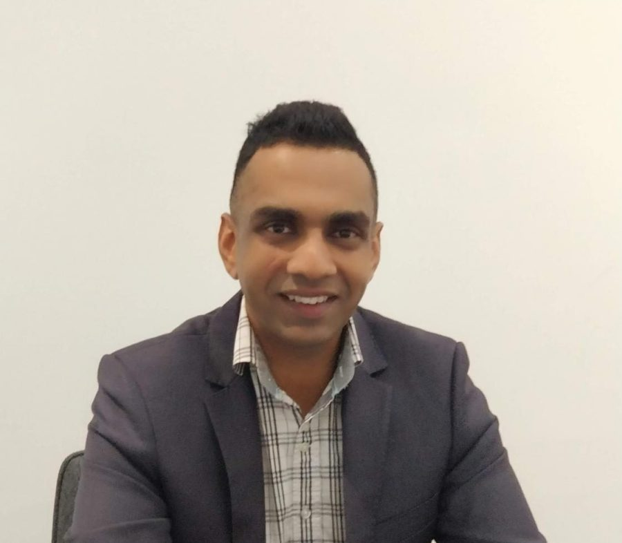 Naren Chellappah, AJP candidate in Bentleigh