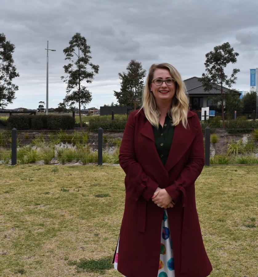 Labor's Sarah Connolly is confident she is the right fit for Tarneit.