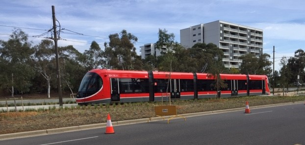 Federal+funding+for+Canberra%27s+light+rail+has+been+contentious.