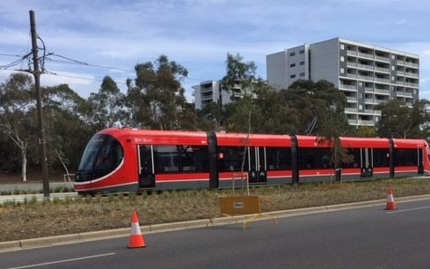 Not all parties are onboard Canberra's light rail