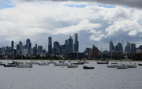 View from St Kilda Pier in the seat of Macnamara.