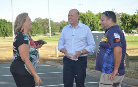 Despite being faced with a tough battle, Peter  Dutton seems relaxed. And he has the steely resolve of a former police officer