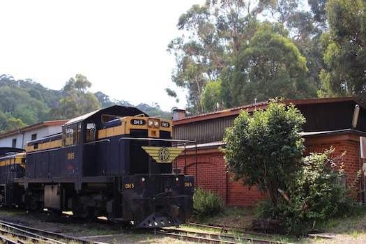 The iconic Puffing Billy steam train draws thousands of tourists and locals to Gembrook, Victoria in the outer metropolitan federal seat of La Trobe. Photograph: Zainah Mertakusuma