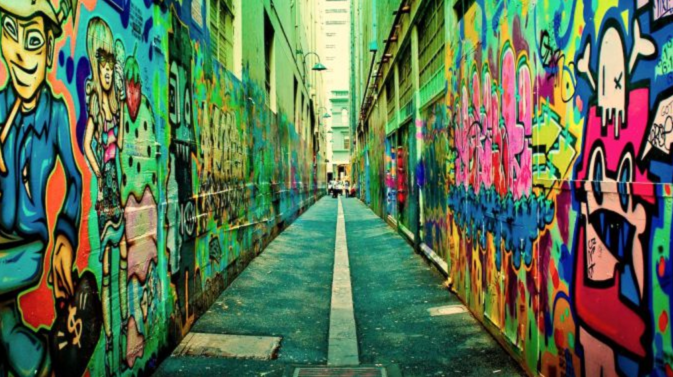 The city is a vibrant cultural and social hub famous for its laneways.
