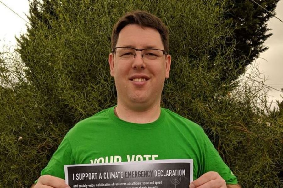 Greens candidate Jay Dessi apologised and quit in the Melbourne seat of Lalor Credit Facebook