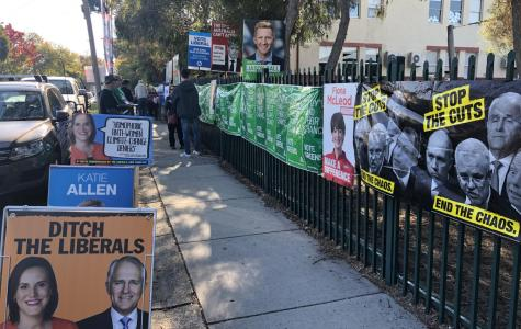Vandalism claims as Higgins goes to the polls