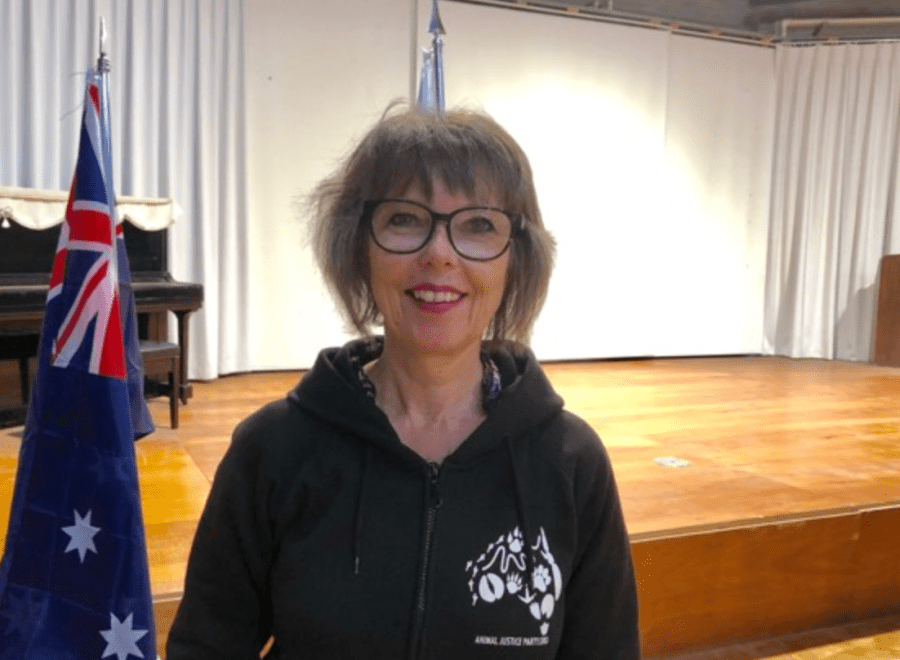 Rosemary Lavin, the Animal Justice Party candidate for Chisholm. Photo: Nicola Pavan