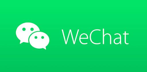 WeChat's logo.