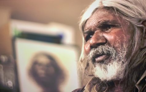 Actor David Gulpilil revealed he has lung cancer, while being honoured at the NAIDOC Awards. Photo: NITV/SBS)