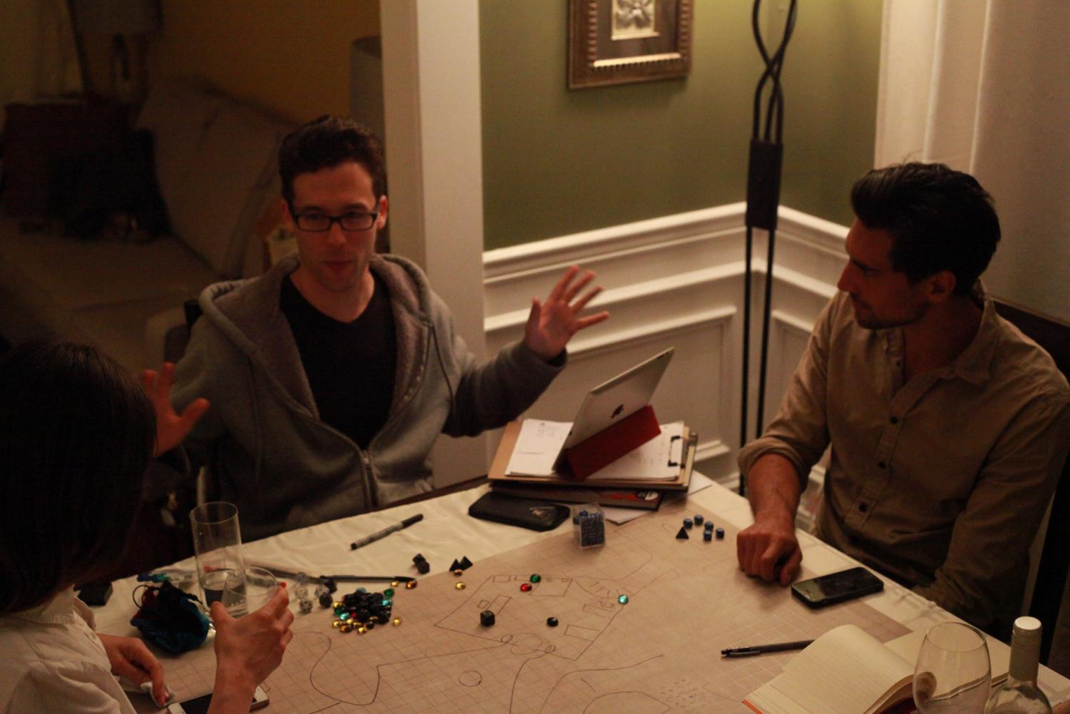 For the friends around the table, the DND adventure is just beginning