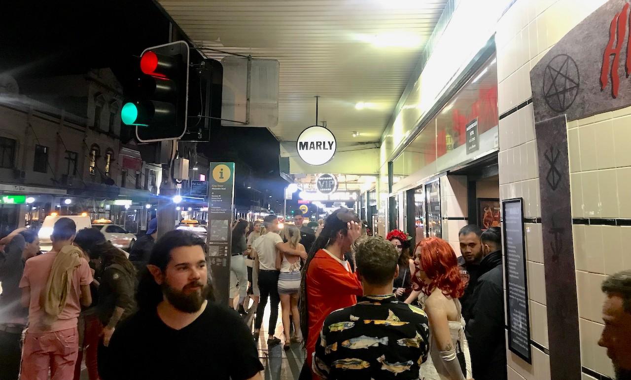 King Street on a Friday night. Photo: Tim Piccione
