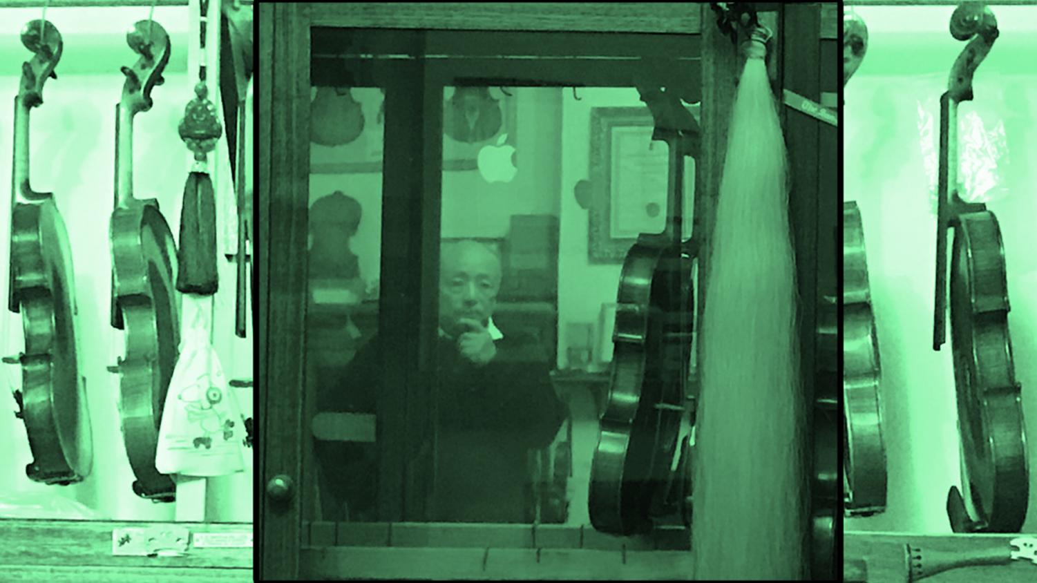 Zaixing Sheng, master luthier, has lived his extraordinary life in two parts.